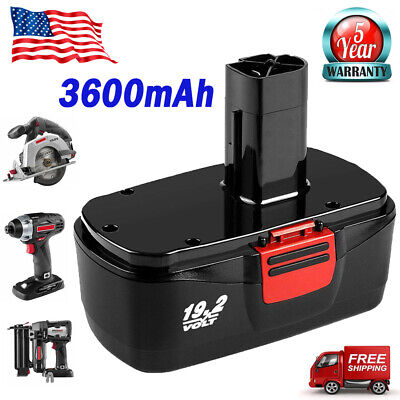 For Craftsman C3 19.2 Volt XCP 2.0AH Ni-Cd Battery Strong 130279005 11374 11580