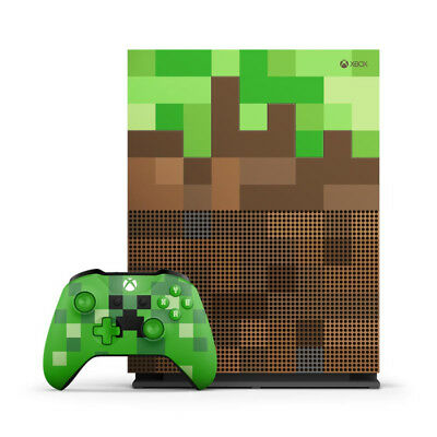 X-BOX  console game computer MINECRAFT **LIMITED **EDITION**