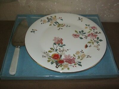 Royal Vale Floral Cake Plate And Server Unused In Box