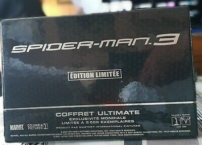 Spider-Man 3 Ultimate Edition Collector French edition new only 5000