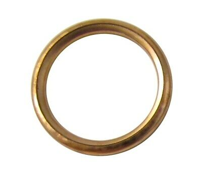 Professional Copper Exhaust Gaskets x10pcs OD 44mm ID 35mm x 5mm 220144