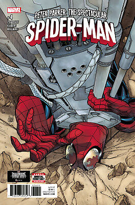 Peter Parker: The Spectacular Spider-Man #4 - Marvel - Boarded. Free Uk P+P