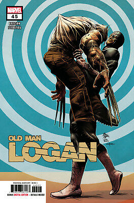 Old Man Logan #45 Marvel Legacy - 1St Print - Bagged And Boarded. Free Uk P+P!