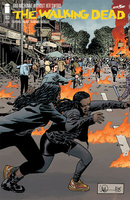 The Walking Dead #183 - 1St Print - Image - Bagged And Boarded. Free Uk P+P