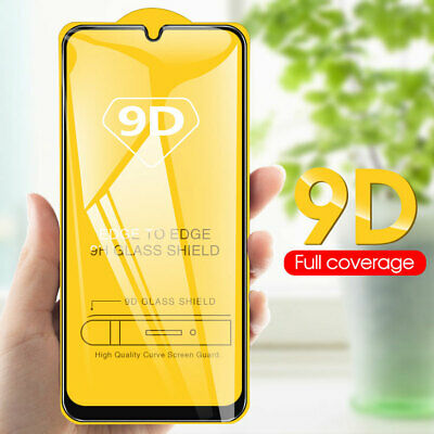 9D Full Cover Temper Glass Film Protector for Samsung Galaxy A50 A30 A70 Screen