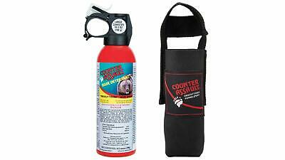 Counter Assault CA-18H/SB  Bear Deterrent Pepper Spray with Holster 10.2-Ounce
