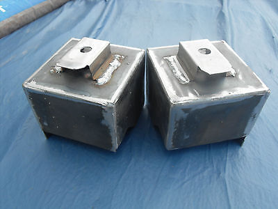 Lancia Fulvia Coupe/Sport Zagato new sub-frame mounting boxes (Pair) All models