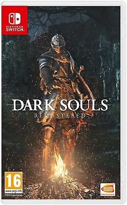 Dark Souls Remastered Nintendo Switch Brand New Sealed Official