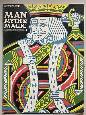 Man, Myth & Magic 1970 No 14 tarot, Jeremy Benham canewdon Cabala, Cagliostro