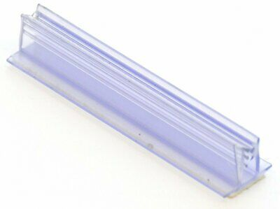 "SuperGrip T-Style 3"" Long Sales Sign Ticket Holder with Adhesive Base Lot of 100"