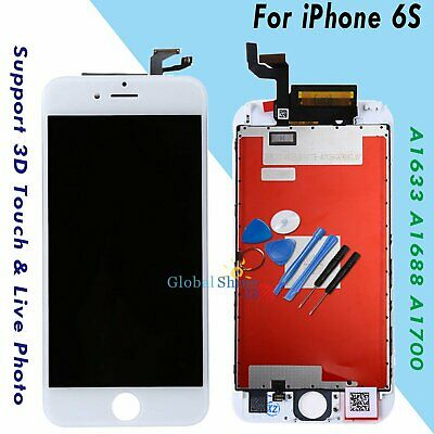 """For iPhone 6S 4.7"""" LCD Display Touch Screen Digitizer Assembly Replacement White"""