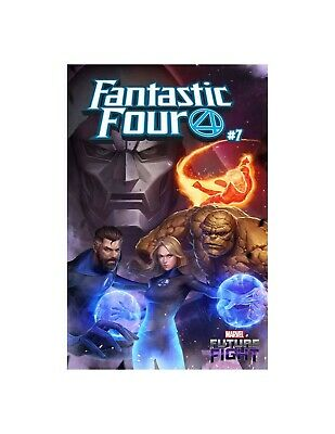 Fantastic Four (2018) No.7 (Mystery Variant)