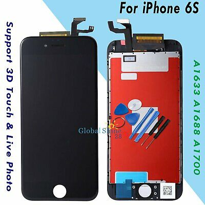 """For iPhone 6S 4.7"""" LCD Display Touch Screen Digitizer Assembly Replacement Black"""