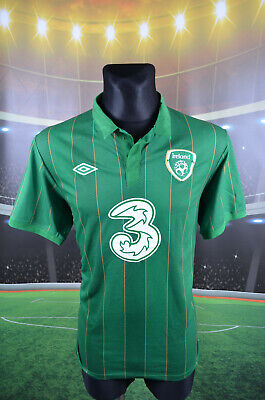 "Ireland Eire Umbro 2011-12 Home Football Shirt (44"") Jersey Top Trikot Camiseta"