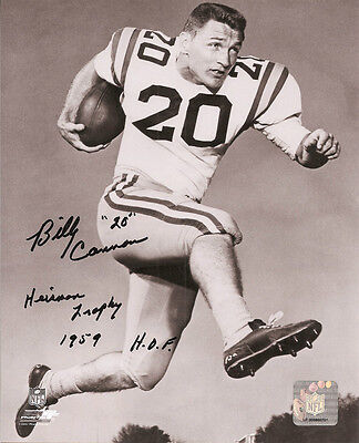 """Billy Cannon Autographed//Signed LSU Tigers 8x10 NCAA with /""""Heisman 1959 CHOF/"""""""