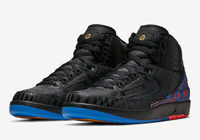7c1e69a4ffc73a 2019 Nike Air Jordan 2 II BHM Retro SZ 11 Black Metallic Gold BQ7618-007