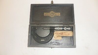 Moore and Wright Screw Thread Micrometer 22-30TPI (Whit) - TMIC005