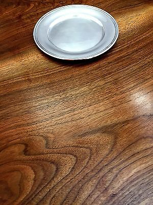 S Kirk & Son Sterling Silver Underplate /Butter Plate For Shreve, Crump & Low