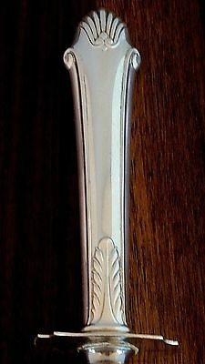 Gorham Co Sterling Silver Handled Large Roast Carving Knife Edgemont 1987 Mono H