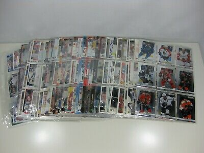 Lot of 596 NHL Hockey Cards UNSORTED LOT!! w/pages Double Sided