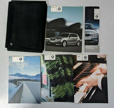 GENUINE BMW 1 SERIES E81//E87 HANDBOOK OWNERS MANUAL WALLET 2004-2007 PACK H-477