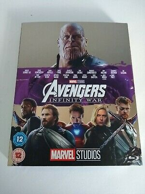 Avengers Infinity War Blu-ray with 10th Anniversary Limited Edition Sleeve