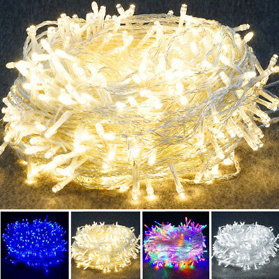 10M 20M 30M 50M 100M LED Fairy String Lights Outdoor Indoor Hanging Decors Lamp