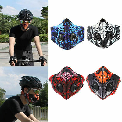 Activated Carbon Anti Dust Pollution Bike Cycling Half Outdoor Face Mask