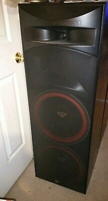 Cerwin-vega CLS215 speaker grill .Nice condition. Parted from a perfect cabinet
