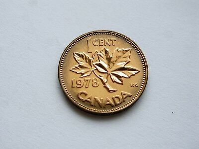 1978 Canada Small One Cent