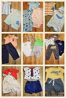 d9282afa12b8 LOT OF 26 PC 12-18 M Baby Boy Clothes Outfits Spring Summer Gymboree ...