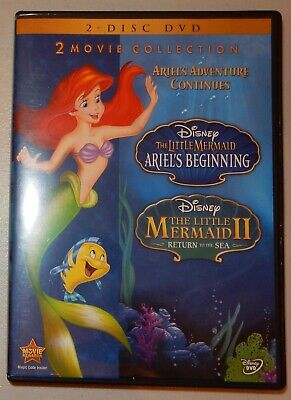 The Little Mermaid II and Ariel's Beginning 2-Movie Collection [2-Disc DVD]