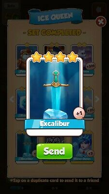 Coin Master Excalibur (FAST DELIVERY)