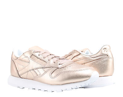 d26448ff176 Reebok Classic Leather Melted Metal Bronze Women s Running Shoes BS7897  Size 5.5