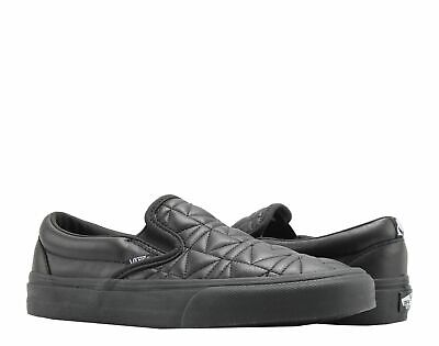 ae4b125912 Vans Classic Slip On Karl Lagerfeld Quilted Black Low Tops VN0A38F7OEI Size  4