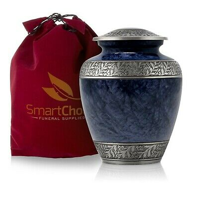 SmartChoice Royal Cremation Urn for Human Ashes - Affordable Funeral Urn