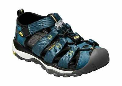 91ea311e38f5 Keen Children s Newport Neo H2 Closed Toe Sandal - Big Kid Legion Blue Moss