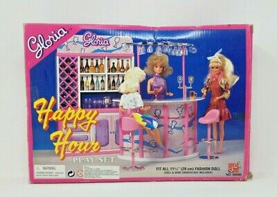 *NEW* Gloria Barbie Doll House Furniture Happy Hour Play Set (98006)