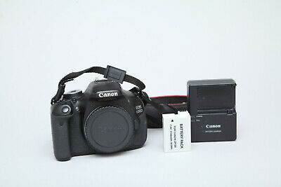 Canon EOS 600D 18MP DSLR Camera (Body Only) in Very Good Condition 11k Shutter