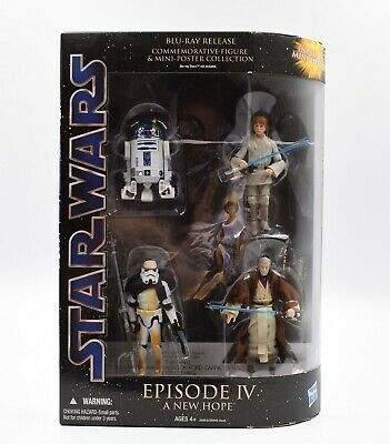 Star Wars Episode IV A New Hope Commemorative Action Figure Collection