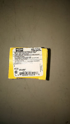 Hubbell Hbl1224L New In Box 4 Way 20A 120/277 Lock Switch With Key #B65
