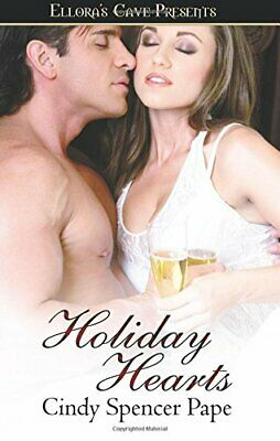 HOLIDAY HEARTS by Cindy Spencer Pape EROTIC CONTEMMP/PARANORMAL ~ OOP & VHTF
