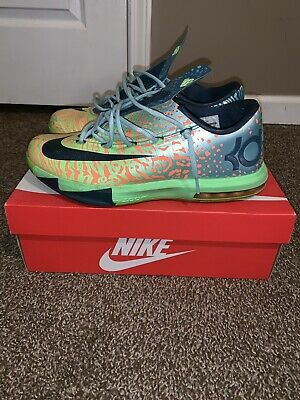 be6620d752b1 NIKE KD VI 6 Meteorology Size 11 100% Authentic Kevin Durant ...