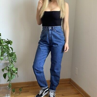 e6bada17a3b VINTAGE LEVI'S JEANS / Levi High Waisted Jeans / Straight Fit / Non ...