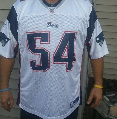 hot sale online ce4f7 0822b REEBOOK NEW ENGLAND Patriots Throwback Tedy Bruschi Red ...