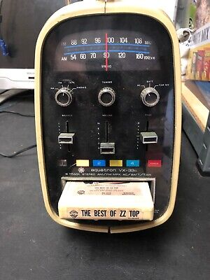 1973 Brother Aquatron VX-33C Radio 8-Track Egg Player Tested & Works
