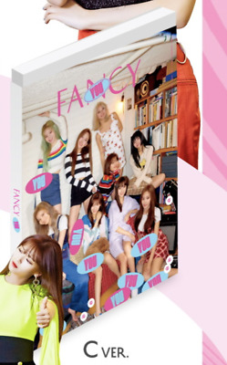 Twice-[Fancy You]7th Mini Album C Ver CD+Poster+Book+Card+Sticker+PreOrder+Gift