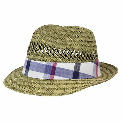 3d65a852924829 COLUMBIA STRAW HAT Sun Fishing Outdoors Vented Crown Large Unisex ...