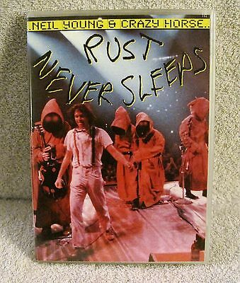Neil Young & Crazy Horse - Rust Never Sleeps - Music Dvd - Great Gift Item!