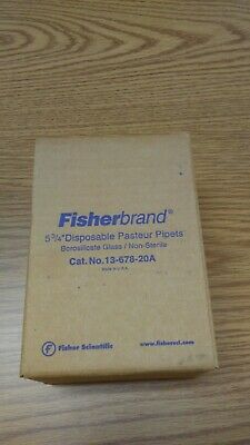 Pipets Fisherbrand Disposable Pasteur Pipets 5 3/4 inch (13-678-20A)